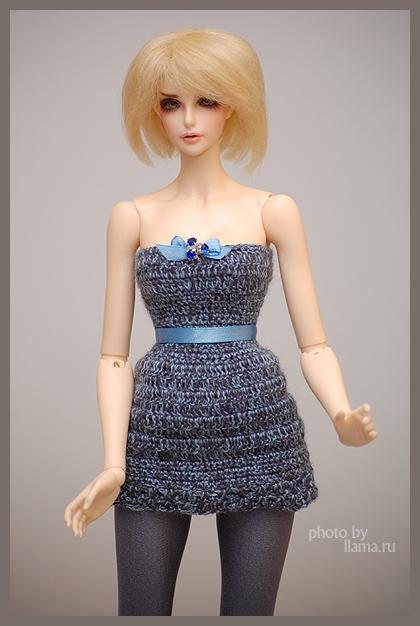 Платье для бжд-куклы