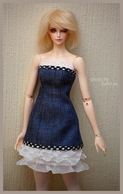 Как сшить из старого платья платье для куклы