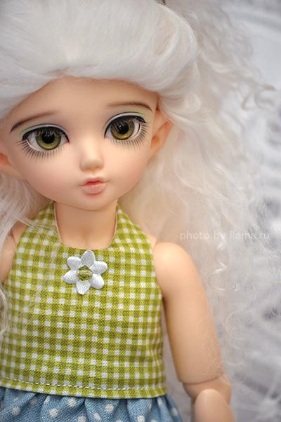 Литтлфи в новом платье