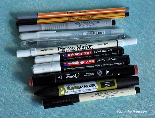 маркеры и ручки для рисования