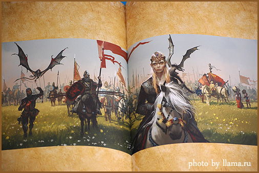 Artbook. A song of ice&fire.