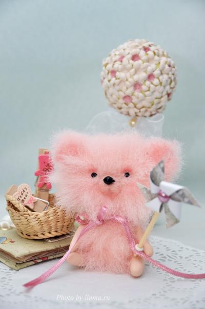 Мини-мишка Рози