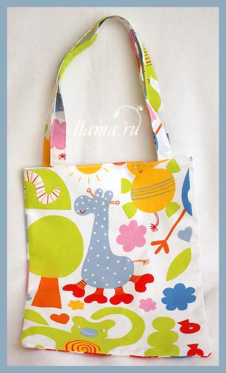 Как сшить такую сумку вы поймете, посмотрев.  16 января 2012.